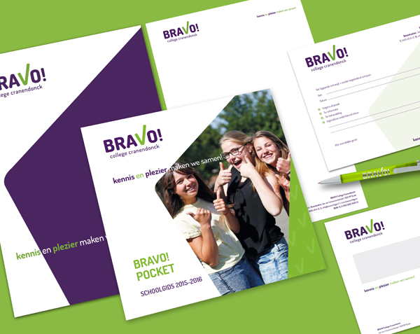 BRAVO College | Huisstijl & Website