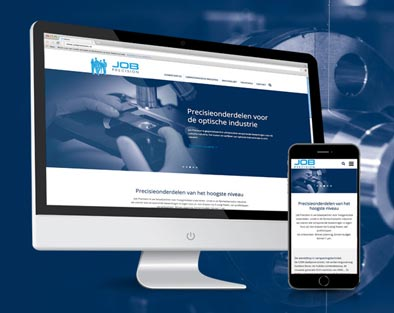 JOB Precision | Concept & responsive website